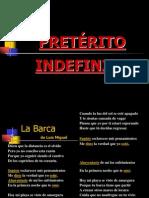 PRETÉRITO INDEFINIDO - espanõl