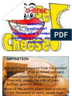 Cheese (Culinary Ppt)
