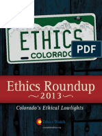 2013 Ethics Roundup