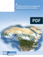 Informe mundial voluntariado 2011