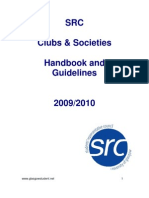 GUSRC Clubs & Socs | Handbook and Guidelines | 09/10