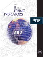 National Science Foundation - Science and Engineering Indicators (2012)