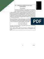 Nicsp 1 Presentacion de Los Estados Financieros