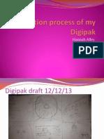 Production Process of Digipak SO FAR