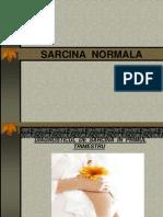 SARCINA NORMALA