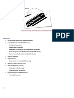 Purchasing Organization and Sourcing Strategy