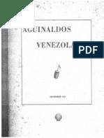 aguinaldos venezolanos