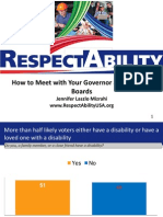 RespectAbility Winning Advocacy