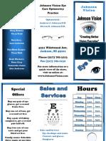 commerce project brochure