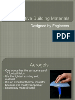 Innovative Building Materials