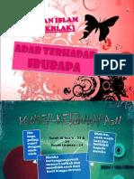 adab kepada ibu bapa tingkatan tiga pendidikan islam