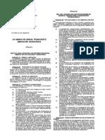 Ley 28303 Ciencia Tecnologia