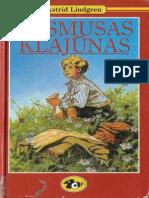 Rasmusas Klajunas - Astrid Lindgren Rasmus pa luffen