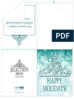 Selection Series Holiday Cards (2)