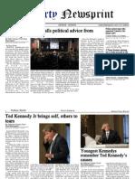 Libertynewsprint 8-30-09 Sunday Edition