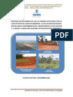 Recuperacion Tierras Afectadas Explotacion Bauxita