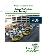 SF Taxi Driver Survey