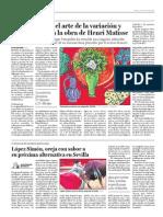 París descubre el arte de la variación y  la repetición en la obra de Henri Matisse
