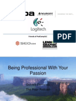Being Professional with your Passion (PodCamp SLC)