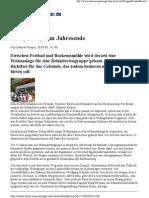"""090830_ksta.de / Kölner Stadtanzeiger / Rhein-Sieg Anzeiger """"Bezugsfertig zum Jahresende"""""""