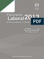Panorama Laboral AL OIT 2013
