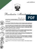 RM 614-2004 Gestion de La Calidad Hemoterapia y Banco de Sangre