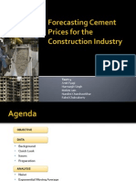 Forecasting Cement Prices