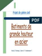 Batiments de Grande Hauteur en Acier