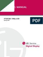 47LB1DA 1080P 1 LCD 2007 Con Diagramas