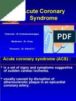 Acute Coronary Syndromes-presentation