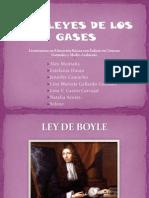 # Leyes de Los Gases #