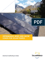Determining Wind and Snow Loads for Solar Panels