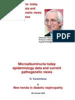 Micro-Albuminuria in diabetes mellitus