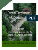 Cerebral Toxoplasmosis