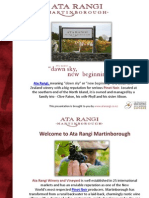 Ata Rangi Winery and Vineyard