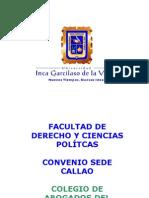 Presentacion de Ceremonia de Graduacion de La Tercera Promocion