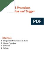 Procedures Functions Triggers