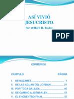 Orden Cronologico Del Ministerio de Cristo