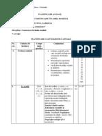 Planificare Calendaristica Pe Materii