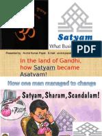 Final on Satyam