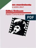 Deleuze Gilles La Imagen-movimiento Estudios Sobre Cine[1]