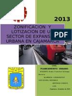 2ªTRABAJO  Y ULTIMO PLANEAMIENTO 2013