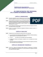 Reglamento Curso Practica Pre Profesional Ujcm