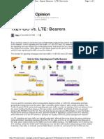 EVDO vs LTE Bearers