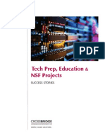 Success Stories - Tech Prep, Higher Ed, NSF (Crossbridge)