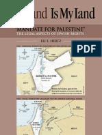 Mandate for Palestine 'English'