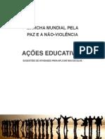 Ações Educativas Pela Paz e a Não-Violência - manual
