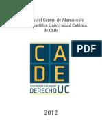 Estatutos Centro Alumnos Derecho