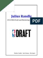 Julius Randle 2014 NBA Draft and Marketing Strategy