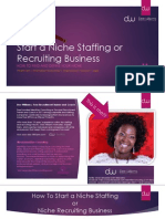 How to Start a Niche Staffing or Recruiting Business - Discover Your Niche